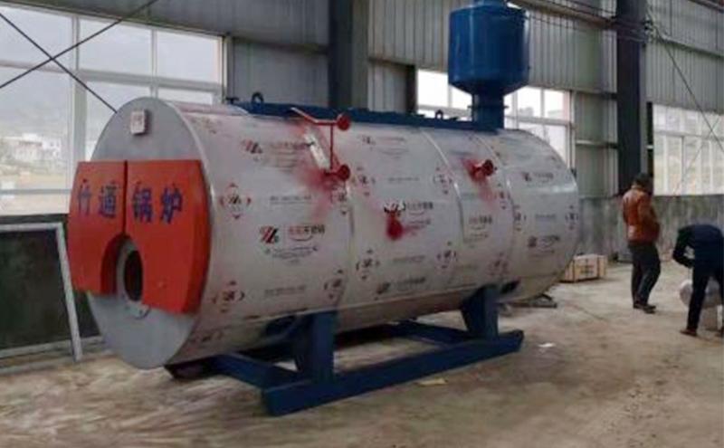 燃气蒸汽锅炉安装案例