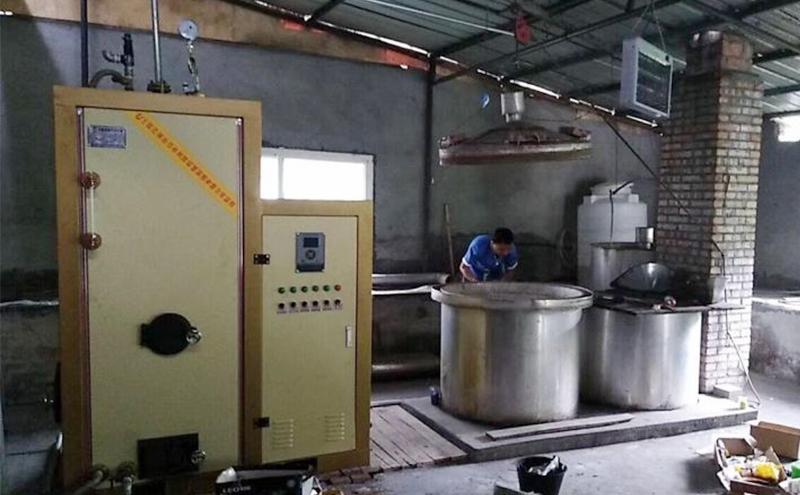 酿酒行业安装的生物质蒸发器