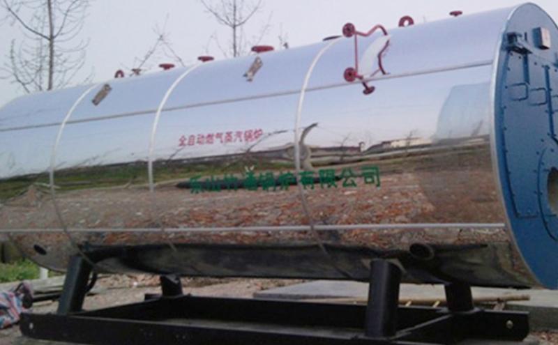 卧式燃油(气)蒸汽锅炉安装案例